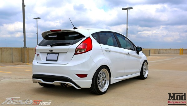 Quick Snap: Zach's Ford Fiesta ST on ESM-004 Wheels