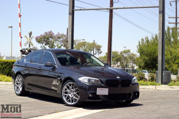Quick Snap: F10 535i Kills it with HRE Wheels & Remus Sport Exhaust