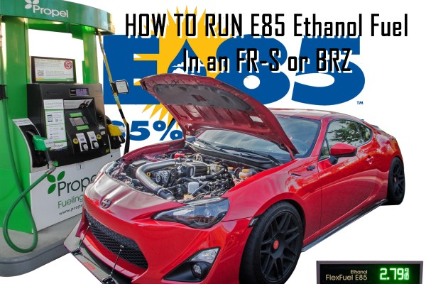 How To Run E85 in your FR-S/BRZ for Big HP gains with OpenFlash Tablet