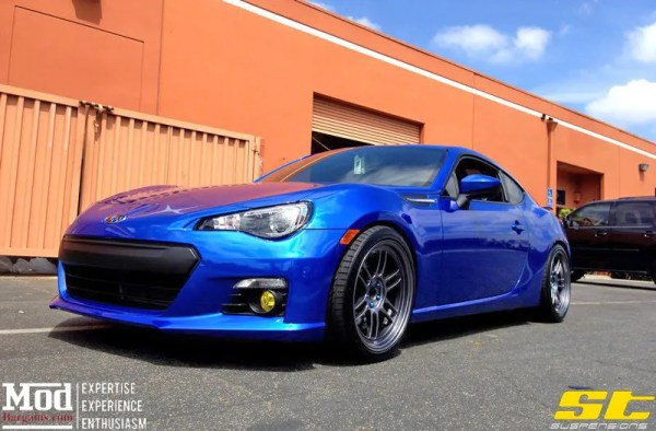 Quick Snap: Subaru BRZ Gets ST Coilovers & Enkei RPF1 Wheels