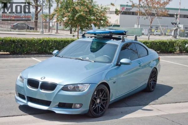 Atlantic Blue Art: Greg's E92 BMW 335i Redefines the Surf Look