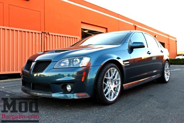 DARK KNIGHT: Pontiac G8 On Avant Garde M590 Wheels