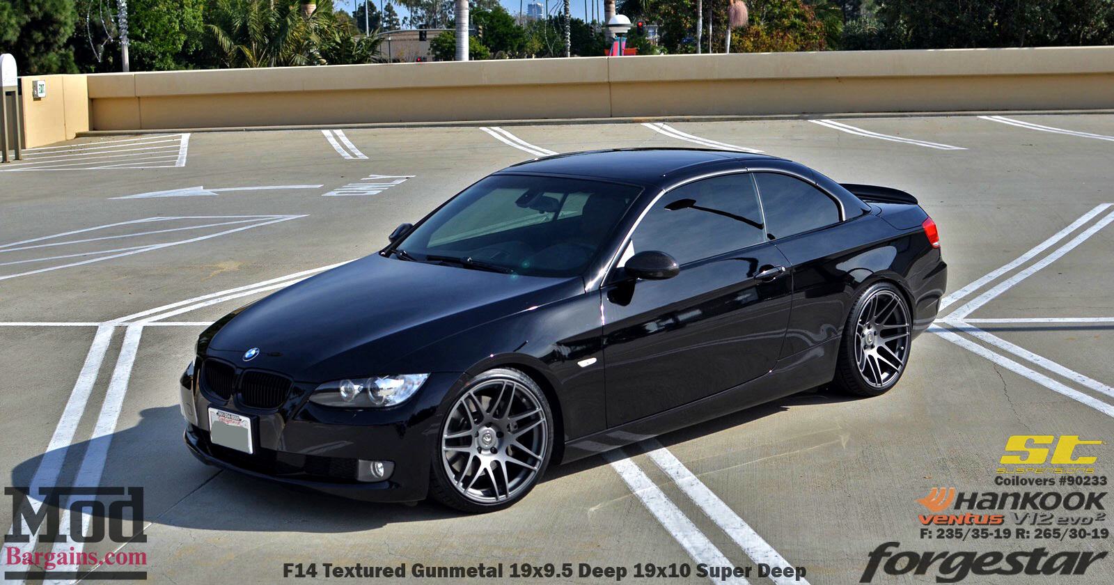 jeff k s bmw e93 on st coilovers with forgestar f14 wheels defines cali style. Black Bedroom Furniture Sets. Home Design Ideas