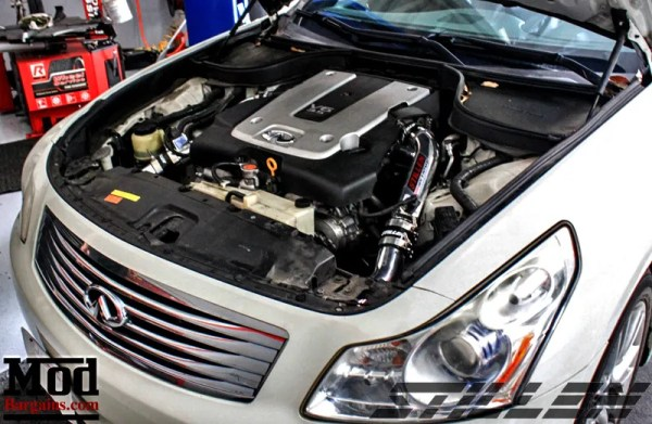 It's about Flow: Infiniti G37S fitted with ARK Catback Exhaust + STILLEN Intake