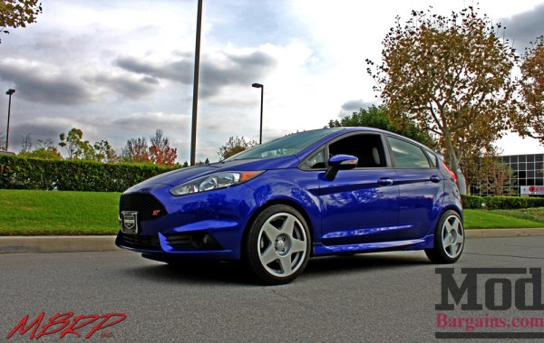 VIDEO – MBRP 3in Cat Back Exhaust for Fiesta ST: Eric N's PB FiST on Fifteen52 Tarmac Wheels