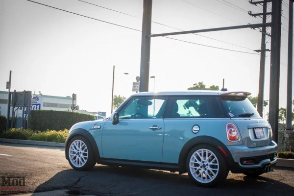 Get Low: Aileen's R56 Mini Cooper S on KW Coilovers