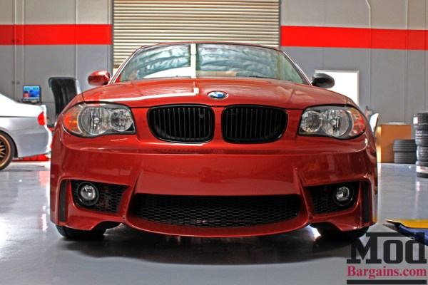 Sedona Red Stunner: E82 BMW 128i gets VMR Wheels V810 Installed