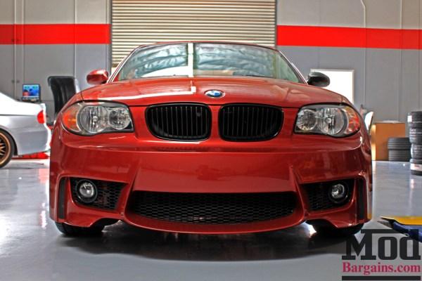 Sedona Red Stunner: E82 BMW 128i gets VMR Wheels V810 Installed