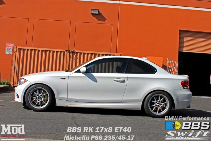 BMW_E82_128i_BBS_RK_Bilstein_Shocks_Swift_Springs_BMWPerf_BBK_Intake_Exh_img007a