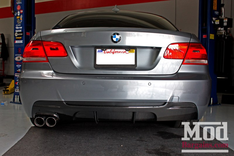 BMW_E92_328i_Gray_CF_Performance_Diffuser_BilsteinShocks_Miro_111_wheels_silver_19x85et35_19x95et33_HRSprings_img007