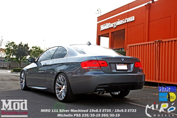 Quick Snap: E92 BMW 328i on Miro 111 Wheels Restyled with a Carbon Fiber Diffuser