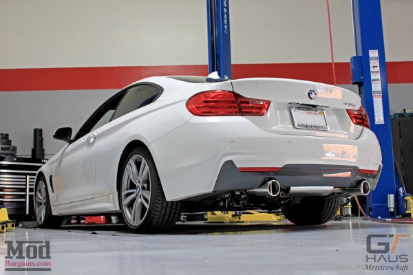 The Perfect Exhaust? Meisterschaft EVC Cat-Back Exhaust for BMW 435i [F32] INSTALLED