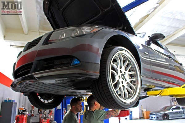Motul Transmission Fluid Change on E90 BMW 335i – Mod Auto offers BMW Trans Oil Change services