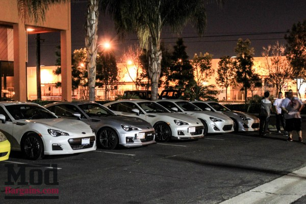 ModAuto Lights Up The Night at 1st Monthly Socal FR-S/BRZ Meet @ModAuto