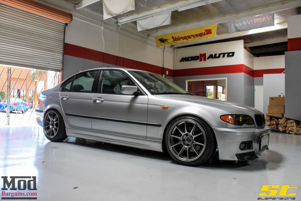Mad Stance Droppin A Bmw E46 325i On St Coilovers