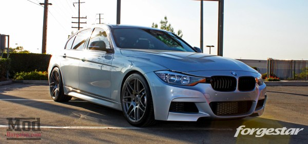 Dan's Silver F30 328i Gets Modded For Show & For Go