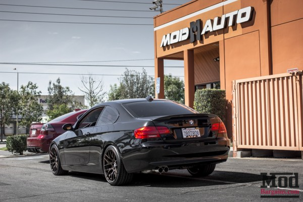 Clean Tastefully Modified E92 – OEM BMW Performance + ZCP + Eibach Springs.