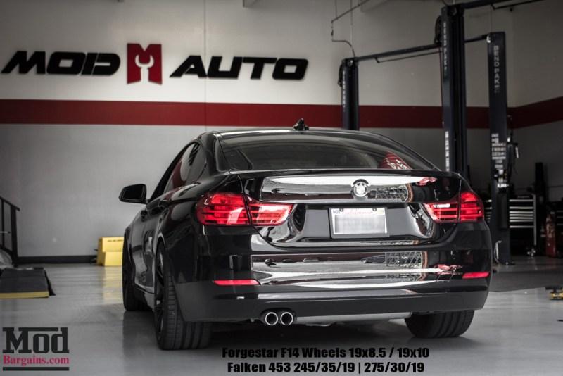 Black BMW F36 428i GranCoupe Mod Auto