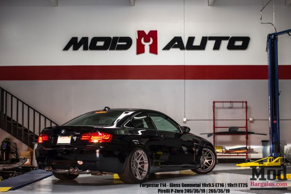 What's In The Shop: E92 M3 – Forgestar F14 – KW Suspension.