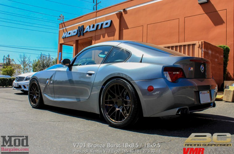 Quick Snap Bmw Z4 M Coupe On Bc Coilovers On Custom Vmr