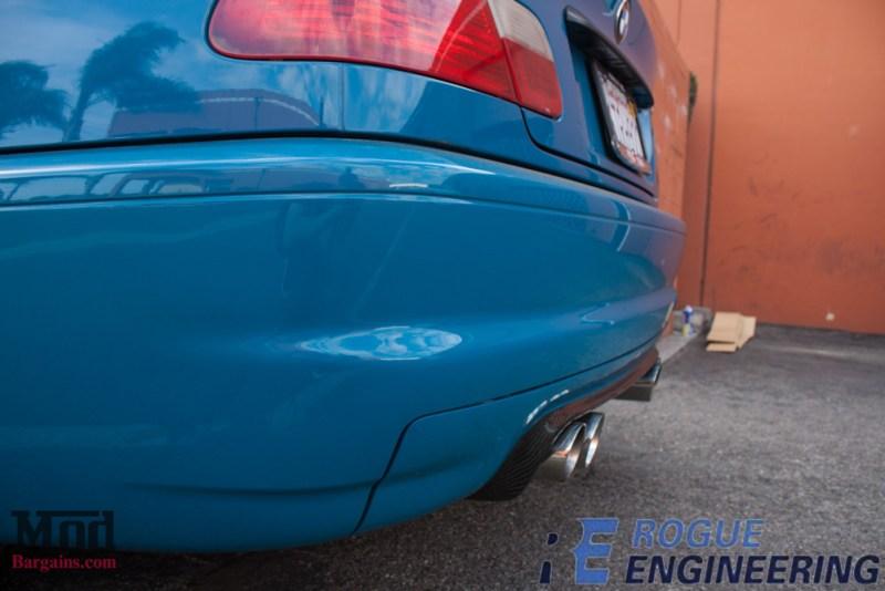 bmw_E46_m3_laguna_seca_blue_CSL_bumper_CF_diffuser_Rogue_el_diablo_exhaust-101