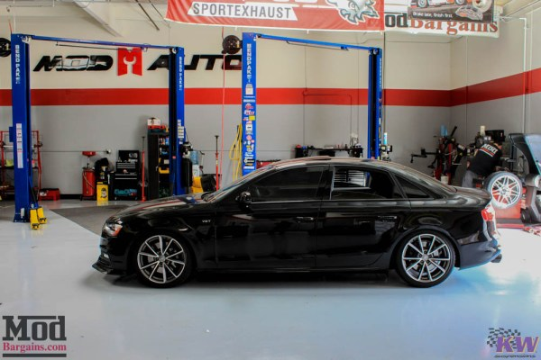 Quick Snap: B8.5 Audi S4 KW Coilovers Installed