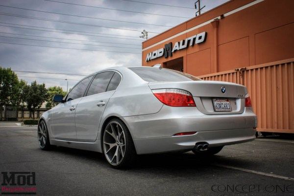 Quick Snap: Concept One CSM-5 Concave Wheels on BMW 528i E60