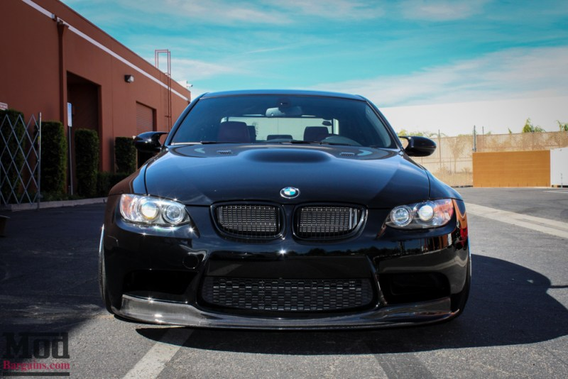 BMW Performance Black Kidney Grilles for 2006-11 BMW M3 [E90/E92/E93] 51712155451 51712155450