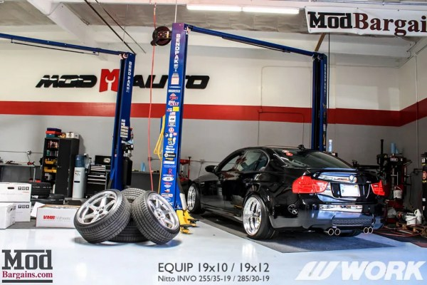 Spotlight: Miguel's E90 BMW M3 on Crazy Wide Work Equip 19×10 + 19×12 Deep Dish Wheels