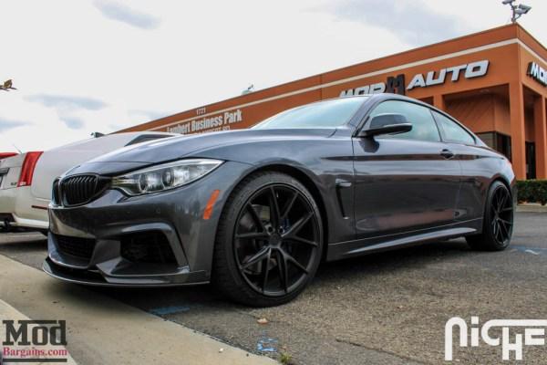 Quick Snap: BMW F32 435i Carbon Fiber Splitter & Spoiler Installed