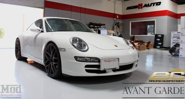 Quick Snap: Porsche 997 on BC Coilovers & Ruger Mesh Wheels