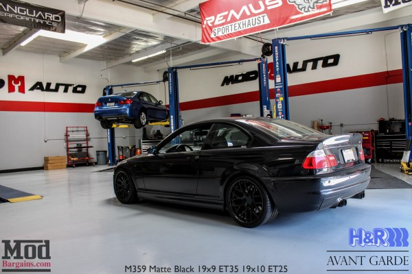 Modded BMW E46 M3 rocks the CSL look on Avant Garde M359 Wheels