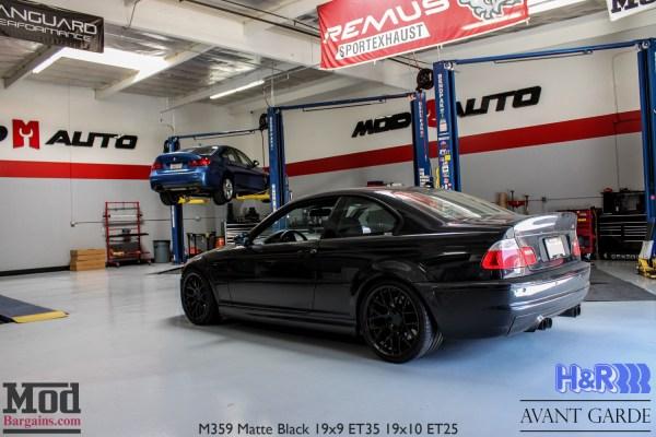 Modded BMW E46 M3 rocks the CSL look on Avant Garde M359 Wheels