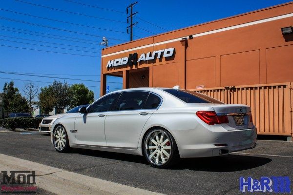 Quick Snap: H&R Lowered BMW 750LI on Forgiato Wheels