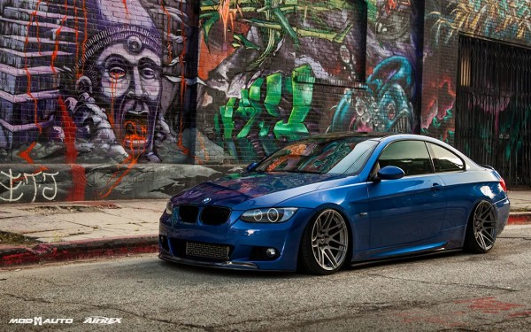 COTM: Vince T's Montego Blue E92 BMW 335i on AirRex Air Suspension & Super Deep Concave F14s