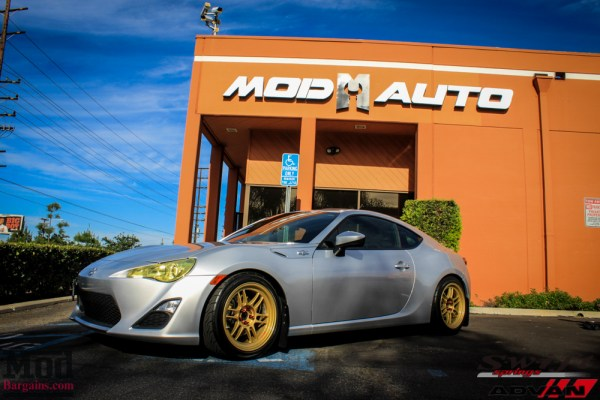Silver Stunner: Jeff's Sick Supercharged Scion FR-S on Enkei RPF-1 Wheels