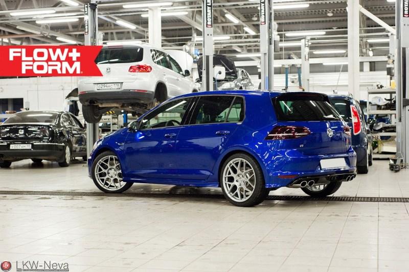 VW Golf R Mk7 HRE FF01 Silver 1