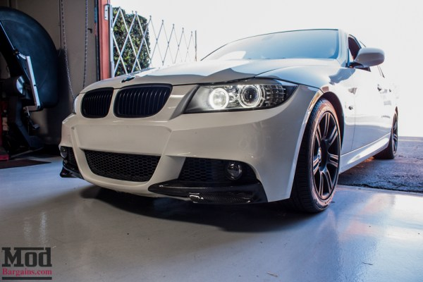 Product Spotlight: BMW E90 LCI Carbon Fiber Front Splitters & The Finer Details for a Clean Look