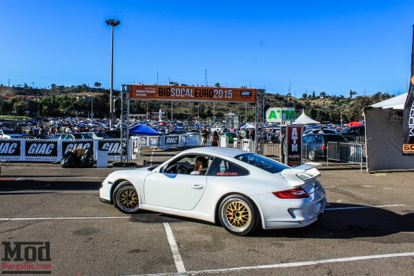 The Porsches of SoCal Euro 2015