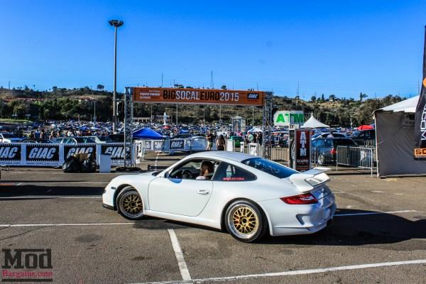 The Porsches of SoCal Euro 2015