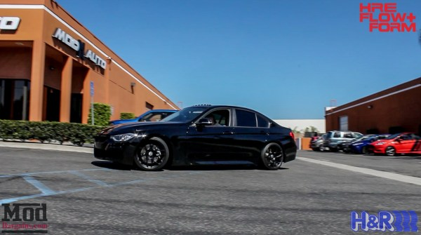 Video: BMW F30 335i on HRE FF01s gets BRUTAL Exhaust Installed @ ModAuto