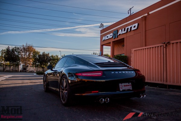 That Flat 6 Sound: Porsche 991 Carrera AWE Tuning Exhaust Installed @ ModAuto