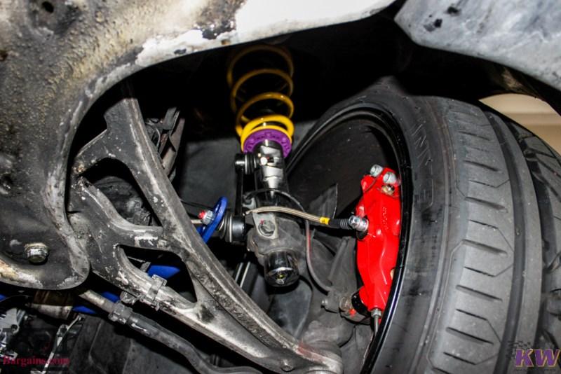 BMW_E46_M3_Imola_Red_Mishimoto_Radiator_ForgestarF14_KW_V3_HRsways-23