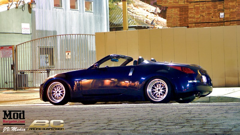 Nissan 350z BC Coilovers Vince 2
