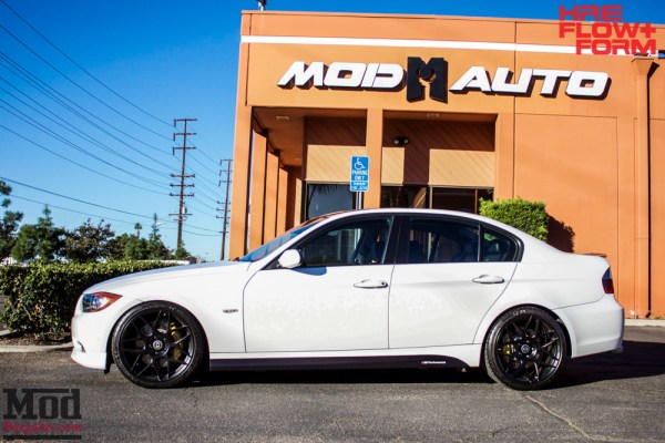Eddie Z's OEM++ E90 BMW 328i on HRE FF01 Tarmac Wheels @ ModAuto