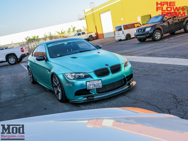 BMW_E92_M3_MatteTeal_HRE_FF01_Fog-15