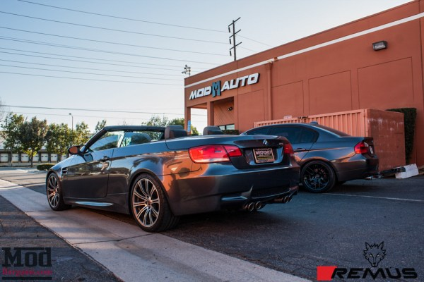 Quick Snap: E93 BMW M3 Gets Remus Carbon Race Exhaust @ ModAuto