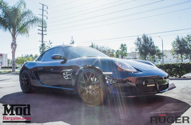 Porsche_987.2_Cayman_S_Ruger_Mesh_MatteBlack_20in_Springs_Exhaust-11