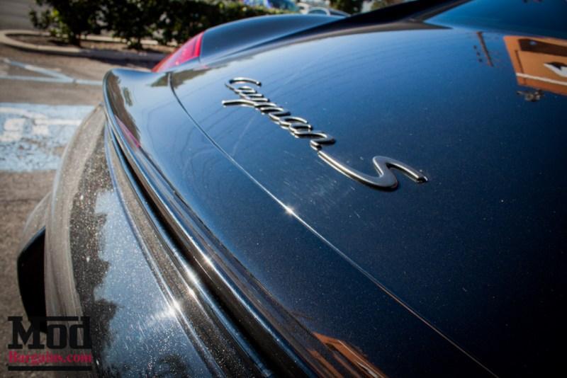 Porsche_987.2_Cayman_S_Ruger_Mesh_MatteBlack_20in_Springs_Exhaust-14