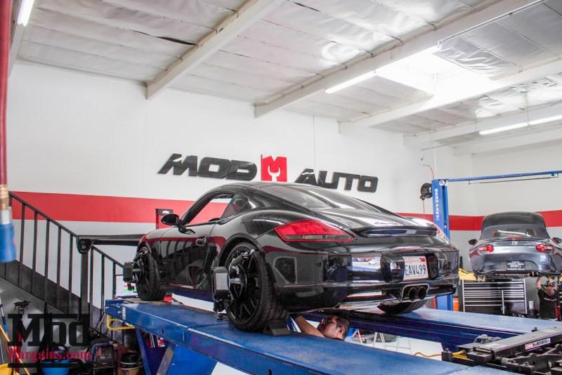 Porsche_987.2_Cayman_S_Ruger_Mesh_MatteBlack_20in_Springs_Exhaust-35
